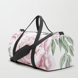 Pink Roses Duet Duffle Bag