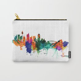 Sydney watercolor skyline Carry-All Pouch