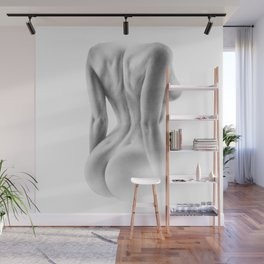 Back Dimples   Sexy Girl   Nude Art   Pencil   Sexual Art   Realism Wall Mural