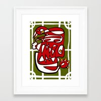 liverpool Framed Art Prints featuring Suarez - Liverpool  by Ray Kane