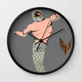 Little Lucha Libre  Wall Clock
