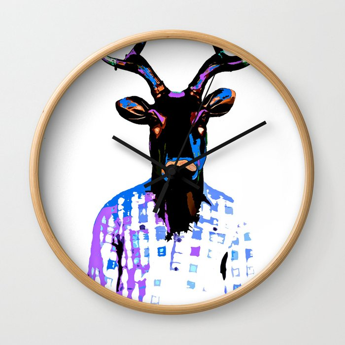 Deer Man Date You Looked Different on Facebook Wall Clock