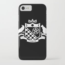 Cabot Crest Hermetic White/Black iPhone Case