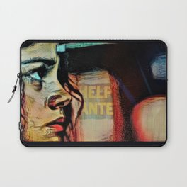 On Que:  Help Wanted Laptop Sleeve