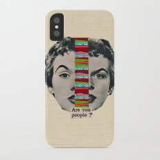 Are You People? iPhone X Slim Case