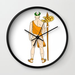 Fast Food Butts 10 Wall Clock