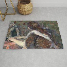 Henri de Toulouse-Lautrec - Madame Poupoule Rug