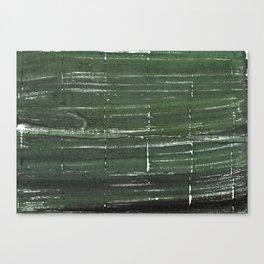 Kombu green abstract watercolor background Canvas Print