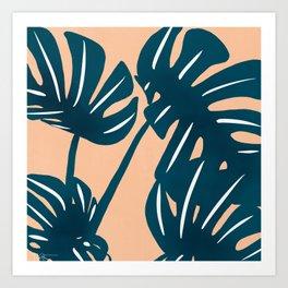 keep palm and carry on  Art Print