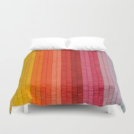 Band of Rainbows Duvet Cover