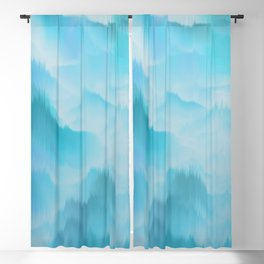 Clouds and mountains. Abstract. Blackout Curtain