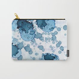 Underwater Dreams | Ink Splash Carry-All Pouch