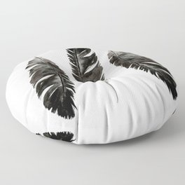 Three feathers Floor Pillow