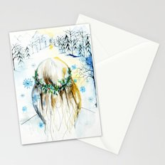 Winter Glow Stationery Cards