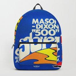 Vintage Mason Dixon 500 Poster Backpack