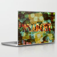 anarchy Laptop & iPad Skins featuring anarchy by laika in cosmos