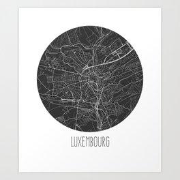 Luxembourg Art Print