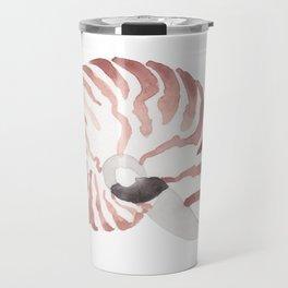 Nautilus Sea Shell Travel Mug