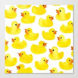 Rubber Ducks Canvas Print