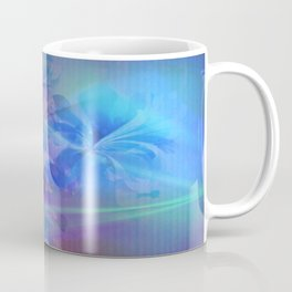 Soft  Colored Floral Lights Beams Abstract Coffee Mug