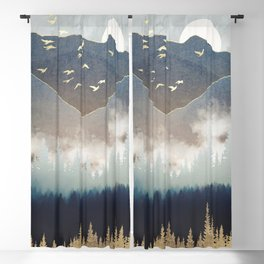 Blue Mountain Mist Blackout Curtain