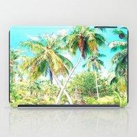 cuba iPad Cases featuring Cuba , Palmeras ( Cuba palms ) by arnedayan