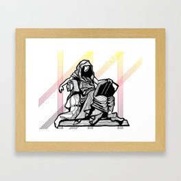 Cleo-Muse of History 2 Framed Art Print