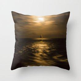 I'll Sail Away Throw Pillow
