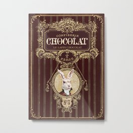 Chocolate rabbit Metal Print