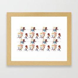 On Your Left! CATWS Framed Art Print