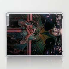 The High Priestess tarot Laptop & iPad Skin