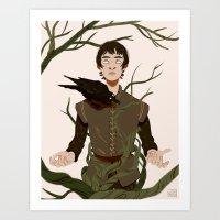 Bran Art Print