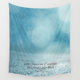 Cleanse me Psalm 139 Wall Tapestry