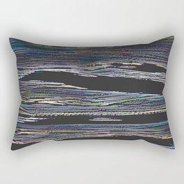 Abstract Estuary Rectangular Pillow