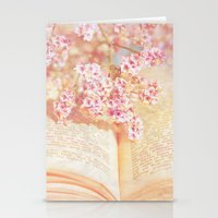 once upon a  time Stationery Cards featuring ONCE UPON A TIME ... by VIAINA