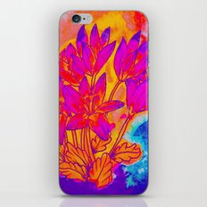 Colchicum Flower Painting iPhone & iPod Skin