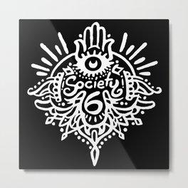 Society 6 - Hindi B Metal Print