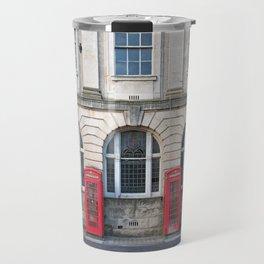 Old Red Telephone boxes Travel Mug