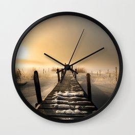 I rest here... Wall Clock