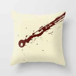 Funky Kill Throw Pillow