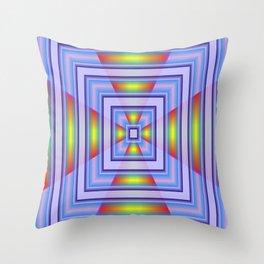 Geometrical Doors Throw Pillow