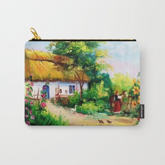 Village house Carry-All Pouch
