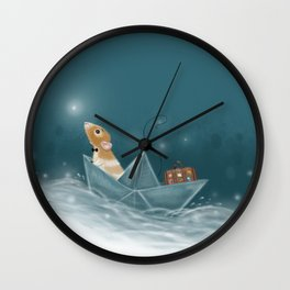 Travel Adventure Wall Clock