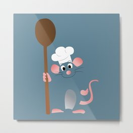 Ratatouille! Metal Print