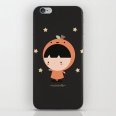 Cute Pumpkin iPhone & iPod Skin