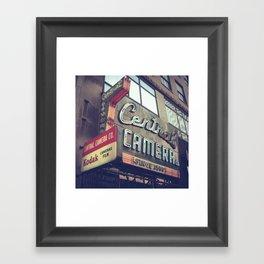 Central Camera Framed Art Print
