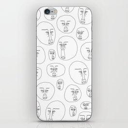 Crowded iPhone Skin