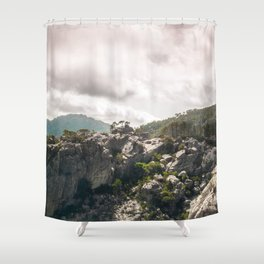 Like a lizard | Corsica Shower Curtain