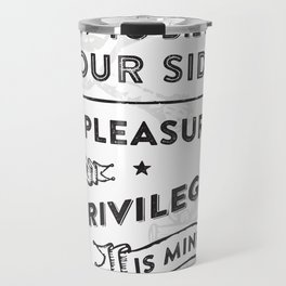 There Is A Light Travel Mug