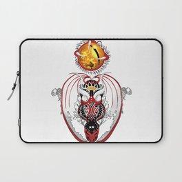 Cosmic Smoking Bloodshot Dragon Laptop Sleeve